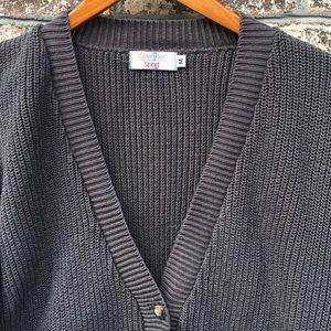 Calvin Klein Sweaters - Vintage Calvin Klein Puffy Sleeve Cardigan Sweater